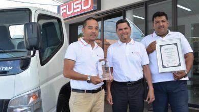 Photo of CFAO primé au Daimler Trucks Asia Distributor Award 2017