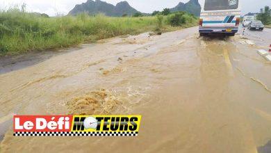 Photo of Les fortes pluies endommagent le bitume
