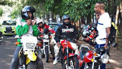 Photo of Le tour de l'île à moto n'a attiré que cinq participants