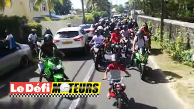Photo of Les motocyclistes de « La Mafia » font le tour de l'île