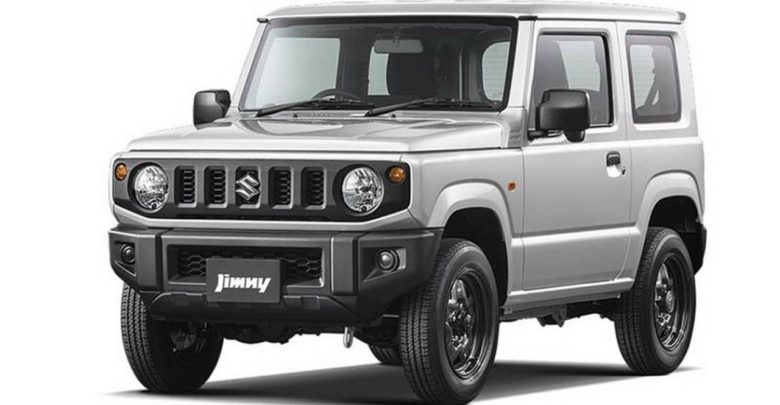 suzuki d voile les premi res images officielles du nouveau jimny. Black Bedroom Furniture Sets. Home Design Ideas