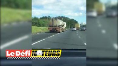 Photo of Un camion enchaîne les dépassements interdits sur l'autoroute
