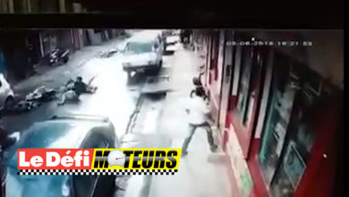 Photo of Un accident de motos à Port Louis filmé par une CCTV