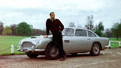 Photo of La mythique Aston Martin DB5 de James Bond est à vendre