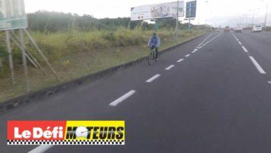 Photo of Ebène : Un cycliste à contresens sur l'autoroute
