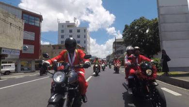 Photo of Les Pères Noël à moto de retour à Maurice en faveur d'enfants malades