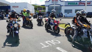 Photo of Annual Open Ride : Environ 100 motos de grosses cylindrées au rendez-vous