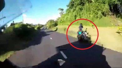 Photo of Vacoas : Un motocycliste à contresens pour éviter la police