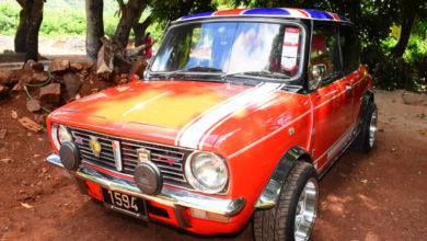 Photo of Amanulla Salarroo : Pour l'amour de sa Mini 1275 GT Clubman
