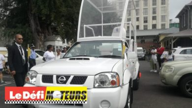 Photo of Vidéo : La papamobile mauricienne est un pickup Nissan NP300