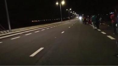 Photo of New Grove : Des motocyclistes en pleine course illégale