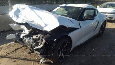 Photo of A vendre : Toyota Supra avec quelques réparations à prévoir
