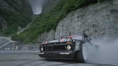 Photo of Chine : Ken Block drifte sur la mythique route de Tianmen