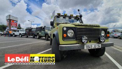 Photo of Vidéo : Le défilé des Land Rover pour la bonne cause