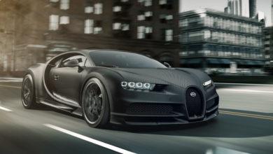 """Photo of Bugatti sort une édition spéciale """"Noire"""" de la Chiron à 3 millions d'Euros"""