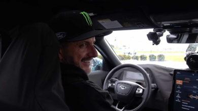 Photo of Vidéo : Ken Block au volant du Ford Mustang Mach-E