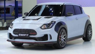 Photo of Suzuki présente une Swift au look sportif