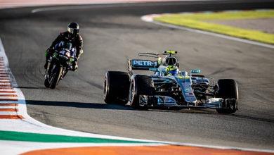 Photo of Valentino Rossi et Lewis Hamilton ont échangé leurs machines
