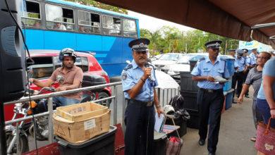 Photo of Quatre Bornes : La police sensibilise le public à la sécurité routière