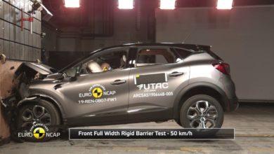 Photo of Le Renault Captur reçoit 5 étoiles aux crash tests Euro NCAP