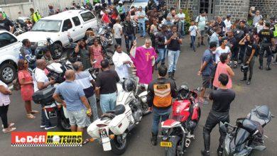 Photo of Vidéo : La messe des motards a été suivie de dons aux habitants de cité Longères