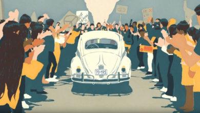Photo of Dernier hommage en vidéo pour la Coccinelle