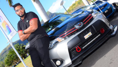 Photo of Jameel Toraub et sa Toyota Corolla Axio tunée