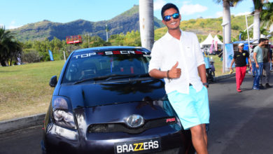 Photo of Stanish Appadoo améliore la Toyota Vitz familiale