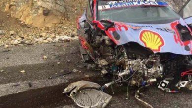 Photo of WRC – Rallye Monte-Carlo : violente sortie de route d'Ott Tänak