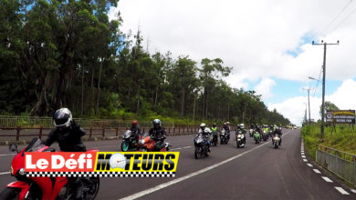 Photo of Vidéo : 150 motos de grosses cylindrées en balade à travers l'île Maurice