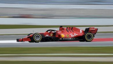 Photo of F1 : Vettel devant et pépin pour Mercedes lors de la 5e journée des essais hivernaux
