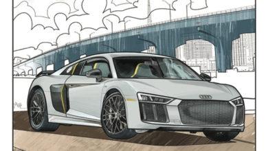 Photo of Des Audi à colorier pour les enfants confinés